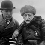 Mussolini con D'Annunzio